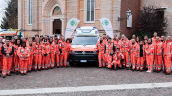 Una nuova ambulanza per Croce Verde Verona in Lessinia